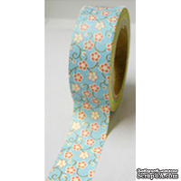 Бумажный скотч Washi Tape Freckled Fawn, FF961, длина 10 м, ширина 1,5 см