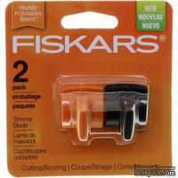 Лезвия для резака Fiskars Paper Trimmer Aluminum Rail, тип К, для резки и биговки, 2 шт.