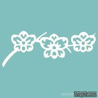 Чипборд от Вензелик - Веточка орхидей, 38x100 мм, размер: 38x100 мм