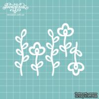 Чипборд от Вензелик - Набор флора 08, размер:  5,1; 7,1 см
