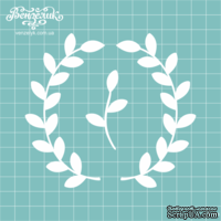 Чипборд от Вензелик - Набор флора 03, размер: высота 10,5 см