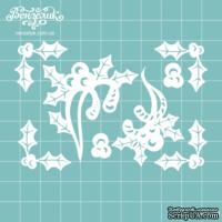 Чипборд от Вензелик - Набор флора 11, размер: 95x74 мм