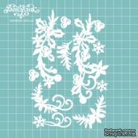 Чипборд от Вензелик - Набор флора 13, размер: 99x147 мм