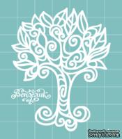 Чипборд от Вензелик - Дерево 02, размер: 56x71 мм
