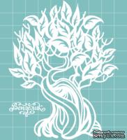 Чипборд от Вензелик - Дерево 03, размер: 86x109 мм