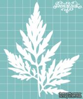Чипборд от Вензелик - Листочек 04, размер: 100x125 мм