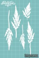 Чипборд от Вензелик - Набор листиков 04, размер: 76x155 мм