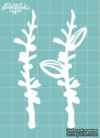 Чипборд от Вензелик - Набор флора 14, размер: 59x95 мм