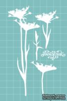 Чипборд от Вензелик - Набор флора 16, размер: 76x135 мм
