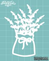 Чипборд от Вензелик - Цветы в мешочке, размер: 65x86 мм