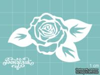 Чипборд от Вензелик - Роза 04, размер: 67x39 мм
