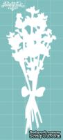 Чипборд от Вензелик - Букетик лаванды, размер: 39x101 мм