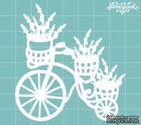 Чипборд от Вензелик - Велосипед с цветами 07, размер: 70x75 мм