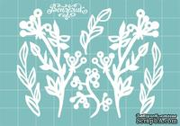 Чипборд от Вензелик - Набор флоры 24, размер: 81x61 мм