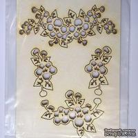 Чипборд от Вензелик - Набор Флора 25, размер: 132x93 мм