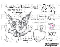 Набор акриловых штампов от Flourishes - Angelic Love