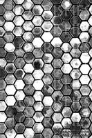 Акриловый штамп от Flourishes -  HONEYCOMB, 10x15 см.