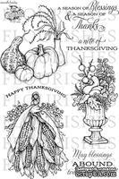 Набор акриловых штампов от Flourishes - A Season of Thanks