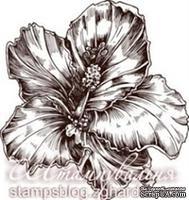 Акриловый штамп FL002a Цветок, размер 4,4 * 4,2 см