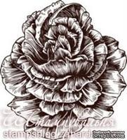 Акриловый штамп FL003a Роза, размер 5,5 * 6 см