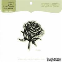 Акриловый штамп Lesia Zgharda FL004 Роза большая, размер 4,6x5 см