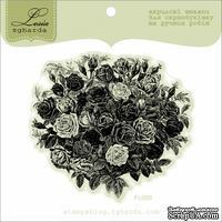 Акриловый штамп Lesia Zgharda Букет троянд FL009