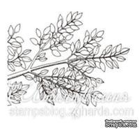 Акриловый штамп FL015 Ветка дерева, размер 4,1 * 2,8 см