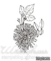 Акриловый штамп FL016 Одуванчик, размер 2,7 * 3,8 см