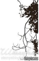 Акриловый штамп FL021 Ветви дерева, размер 2,7 * 5,3 см