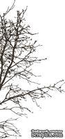 Акриловый штамп FL022 Дерево, размер 3,2 * 6,7 см