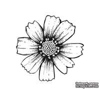Акриловый штамп FL031 Цветок, размер 3,6 * 3,5 см