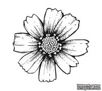 Акриловый штамп FL032 Цветок, размер 4,5 * 4,4 см