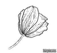 Акриловый штамп FL036 Цветок, размер 3,8 * 4,1 см