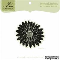 Акриловый штамп Lesia Zgharda FL037a Цветок большой, размер 4,8x4,6 см