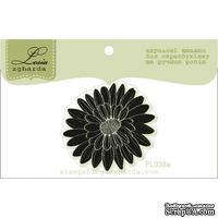 Акриловый штамп Lesia Zgharda FL038a Цветок маленький, размер 3,5x3,8 см