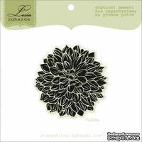 Акриловый штамп Lesia Zgharda FL039a Цветок большой, размер 5x5 см