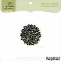 Акриловый штамп Lesia Zgharda FL040a Цветок маленький, размер 3,5x3,6 см