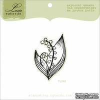 Акриловый штамп Lesia Zgharda FL046 Ландыш, размер 3,1x4,17 см