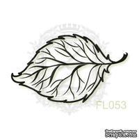Акриловый штамп Lesia Zgharda FL053 Осенний листочек, размер 3х1.8 см