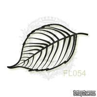 Акриловый штамп Lesia Zgharda FL054 Осенний листочек, размер 3х1.5 см