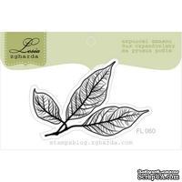 Акриловый штамп Lesia Zgharda FL060 Осенние листья, размер 5,3x3,4 см