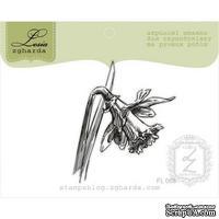 Акриловый штамп Lesia Zgharda Нарцис FL068, 4,6*5,5см