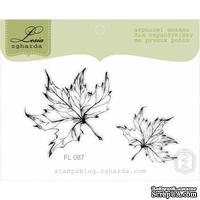Набор акриловых штампов Lesia Zgharda FL087 Кленовые листья, 2 шт - ScrapUA.com