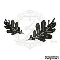 Акриловый штамп Lesia Zgharda FL094 Дубовые листья, набор из 2 штампов