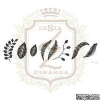 Набор акриловых штампов Lesia Zgharda FL099 Листочки