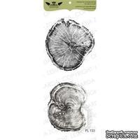 Набор акриловых штампов Lesia Zgharda FL133 Срезы дерева меньшие