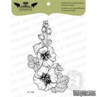 Акриловый штамп Lesia Zgharda FL145 Мальва, 5,6*9,7 см.