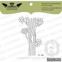 Акриловый штамп Lesia Zgharda Стовбур дерева з дуплом FL166