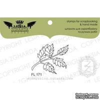 Акриловый штамп Lesia Zgharda Гілочка з листям FL171