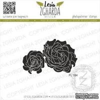 Акриловый штамп Lesia Zgharda Троянди FL184, 5,5*3,5см
